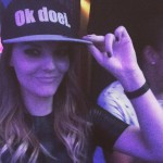 DJ Malúa met Ok doei. pet (snapback)