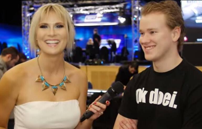 Ok doei. shirt bij European Poker Tour