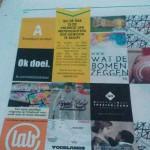 Ok doei.. op de achterkant van de Nieuwe Arnhemse Krant