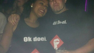 @mrfoxtrot & @healthy_and_silly met Ok doei..-shirts